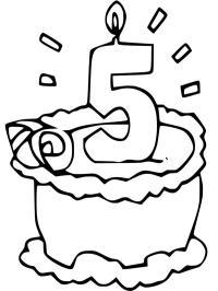 Geburtstag Ausmalbilder Gratis Ausmalbilder Ausdrucken