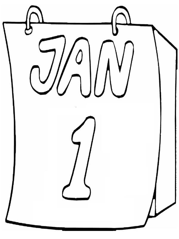 Ausmalbilder 1 Januar Besteausmalbilder De