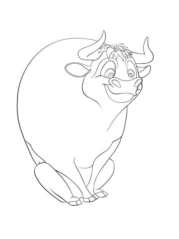 78 ferdinand der stier ausmalbilder kostenloser  erosahmad