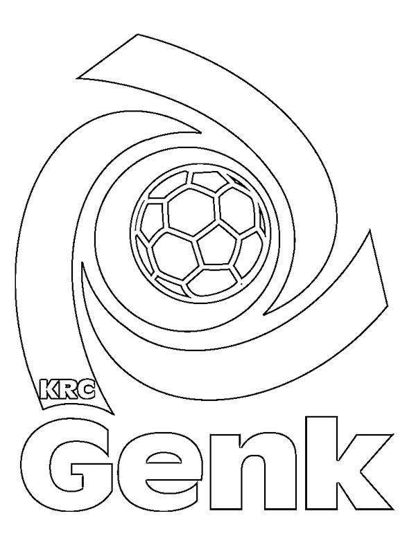kaa ausmalbild  ausmalbilder fussballvereine embleme
