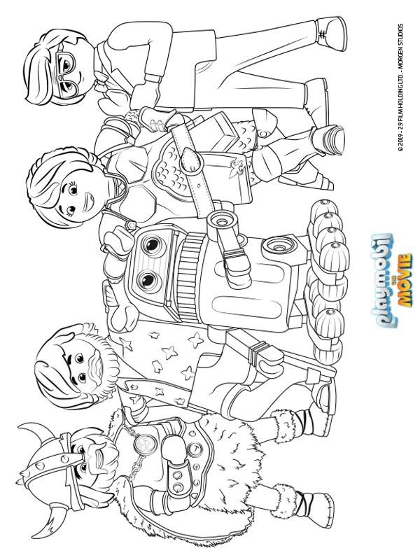 ausmalbilder playmobil jungs  ausmalbilder playmobil